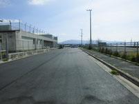 津屋崎漁港 赤灯台の波止 駐車箇所