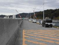 洲鼻漁港 外波止 駐車