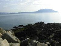 長江港 周辺の地磯