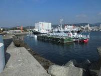 徳山港 浮き桟橋
