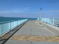 福間漁港 南防波堤 角付近