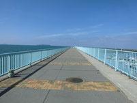 福間漁港 南防波堤 付け根付近