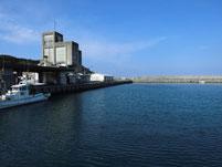 波津漁港 港内