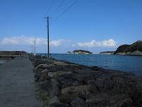 芦屋漁港 遠賀川河口横 護岸
