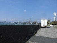 徳山港 ふ頭先端付近