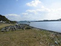 遠賀川 芦屋橋右岸側 マリーナ