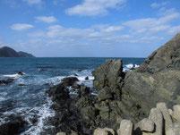 鐘の岬 地磯