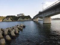 芦屋漁港 なみかけ大橋下