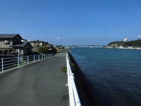 遠賀川 芦屋橋左岸側 下流