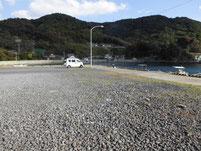 落漁港 駐車場
