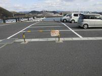 居守漁港 マリーナ側駐車場