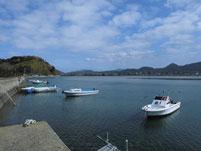 津屋崎漁港 奥の干潟