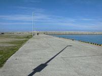 新宮漁港 岸壁