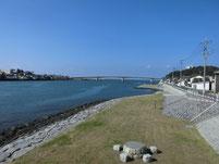 遠賀川 芦屋橋 右岸側下流