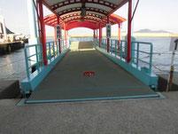 神湊漁港 定期船乗り場