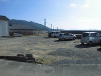鐘崎漁港 駐車場
