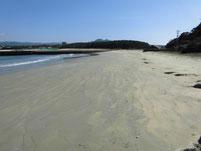 新宮漁港 砂浜