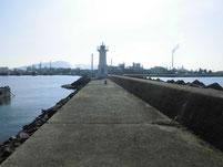 徳山港 波止