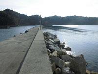 戸田漁港(桑原漁港) 外波止