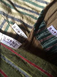 遠州綿紬タグの使用例