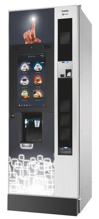 Kaffeeautomat N&W Canto Touch - für Unternehmen, Büros, öffentliche Plätze, Schulen etc.