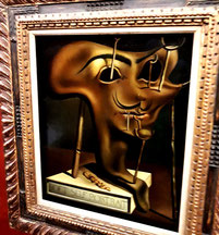 Картины Сальвадора Дали с описанием. Мягкий автопортрет с жареным салом