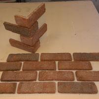 BrickMesh Brick Slip Tile Mosaic
