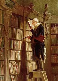 © Carl Spitzweg - Der Bücherwurm