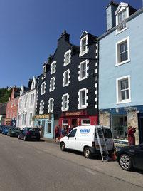 Tobermories berühmte bunten Häuser