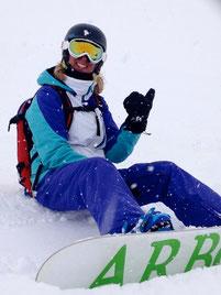 session privée / lesson privé snowboard à Val d'Isere