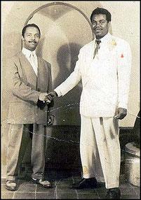 Pérez Prado y Clarence Martin.
