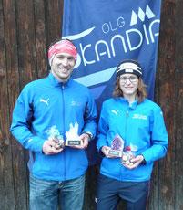Skandiameister 2013: Beat Fankhauser und Corinne Jenni