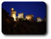 Château de nuit de Inverness