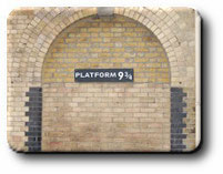 Platform 9 3/4 dans Harry Potter