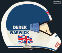 Derek Warwick by Muneta & Cerracín