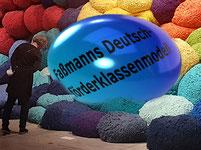 """Hat sich die ÖVP mit dem undurchdachten Deutschförderklassenmodell """"selbst ein Ei gelegt""""?   Bild - Foto: Biennale Venedig 2017:spagra Bearbeitet:spagra"""