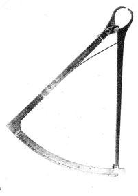 "Langes ""Zehntelmaß"" bis 0,1mm ablesbar"