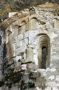 Grotta Sant'Angelo, abside della chiesa