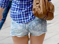Hotpants sind voll im Trend. Foto: Franziska Kraufmann