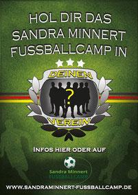 Mobile Fussballschule Sandra Minnert Fussballcamp für deinen Verein Anbieter