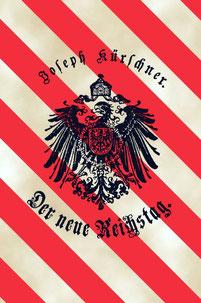 Cover Kürschners Reichstagsbüchlein von 1890
