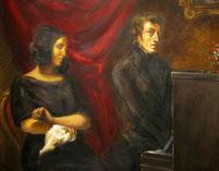 Ritratto di Delacroix