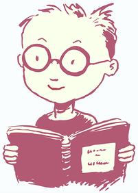 Lernender Kleiner Junge