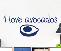 I love avocados sticker