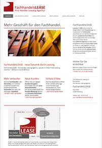 FachhandelsLEASE - Ihre Händler Leasing-Agentur ... mehr Erfolg für den Fachhandel