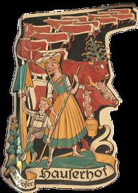 Wappen vom Hauserhof in Kaprun