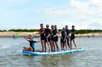 stand up paddle en groupe