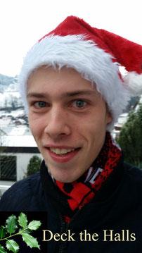 Deck the Halls, Weihnachtslied und zu Neujahr, vierstimmig a-cappella von Niklas Hötzer gesungen