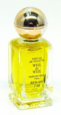 WEIL DE WEIL : PARFUM DE TOILETTE 7 ML - MINIATURE SEULE