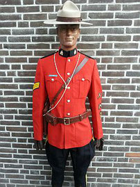 Royal Canadian Mounted Police, galatenue